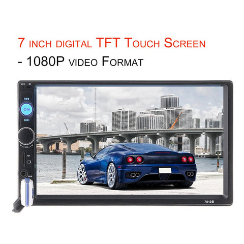 Hd Touch Screen Car Display Music System Gadtechmall