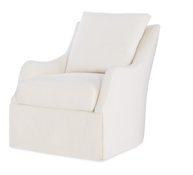 Finnigan Swivel Glider Upholstered in HH1-0432-10