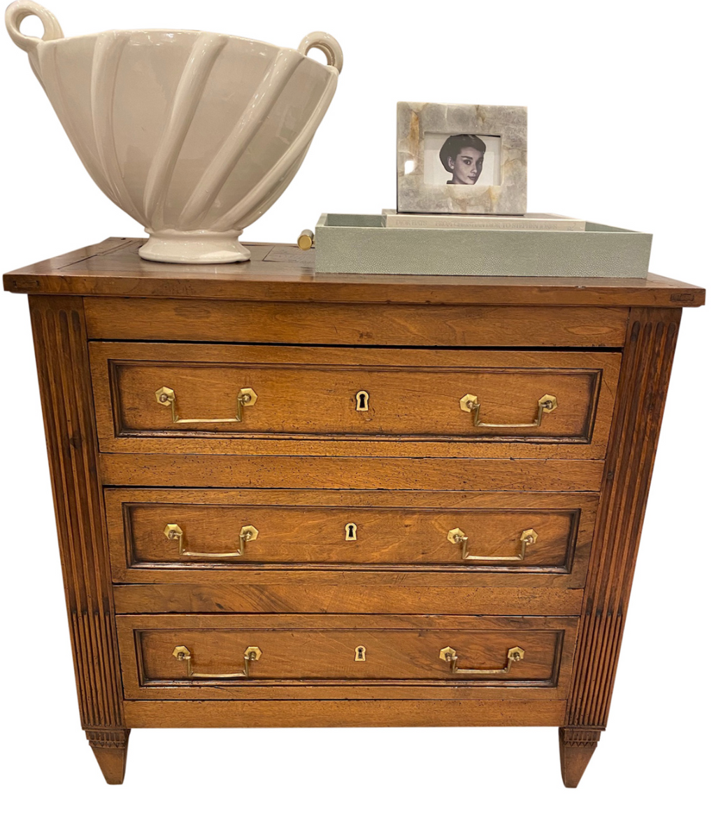 Petite Directoire Commode with Fluting