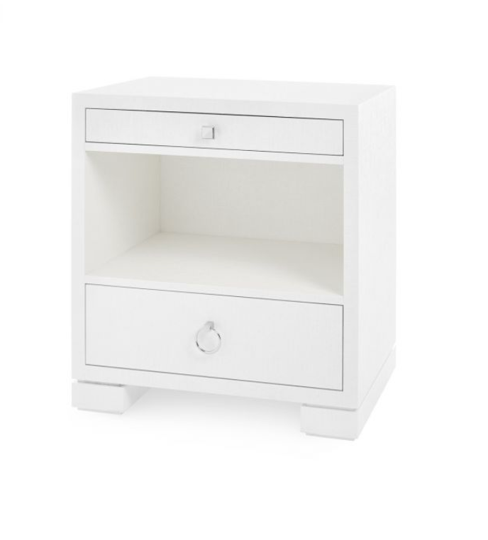 Frances 2 Drawer Side Table