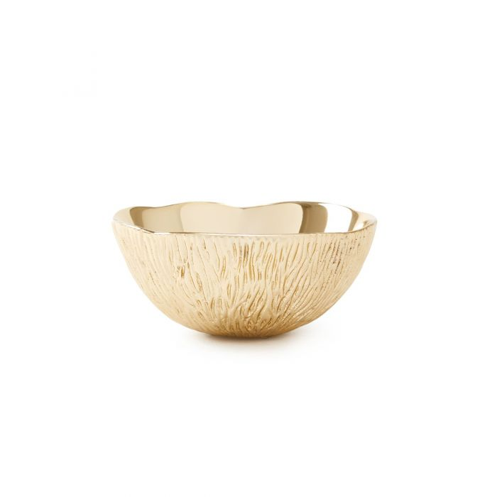 Coral Small Bowl Brass
