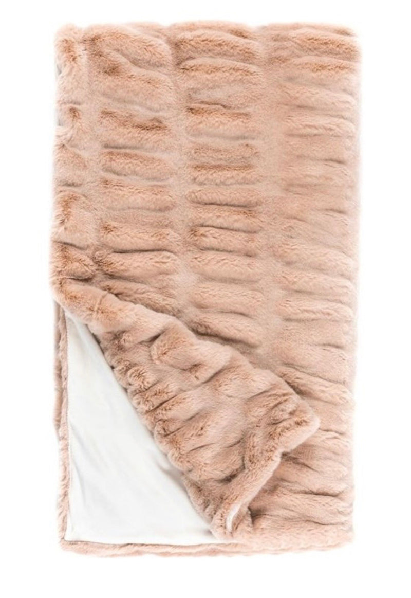 Mink Couture Throw