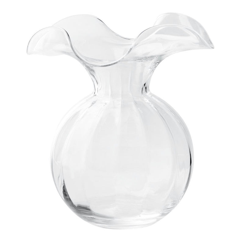 Hibiscus Glass Clear vases