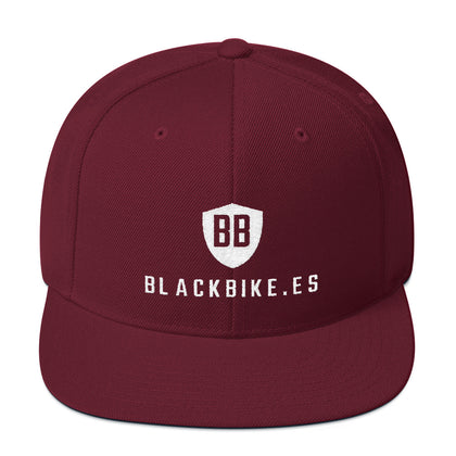 Gorra Blackbike snap - BlackBike.es