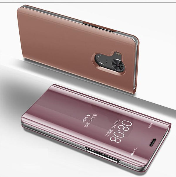 Luxury Flip Protection Full Screen Window Cases For Huawei Mate 8