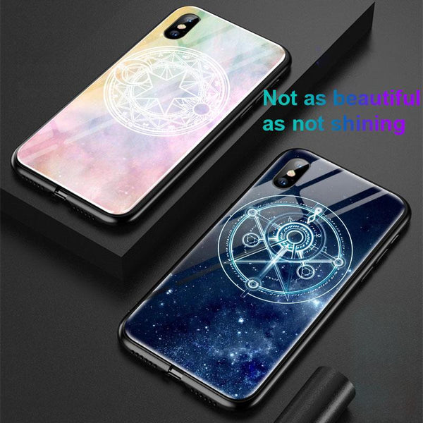 Incoming Call Flash Magic Array Colorful Phone Case For IPHONE 7/7Plus/8/8Plus/ X/XR/XS/XS MAX
