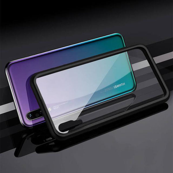 Magnetic Adsorption Metal Case for Huawei P20 P20 pro P20 lite Magnet Magnetic phone Case for P10 P10p Metal Magnetic Phone Case for P30 P30p