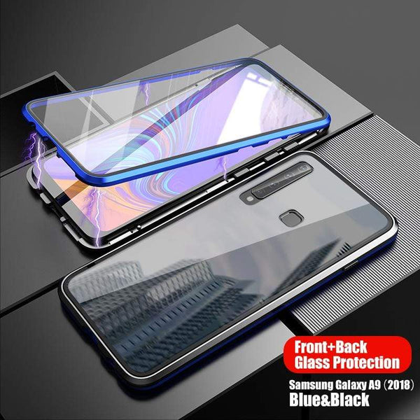Second Generation Double-sided Magnetic Mobile Phone Case For Samsung A5(2017)/A7(2017)/A8(2018)/A8+(2018)/A9(2018)