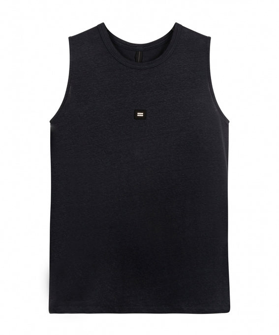 10DAYS Amsterdam bestbasics THE SLEEVELESS LINEN TOP