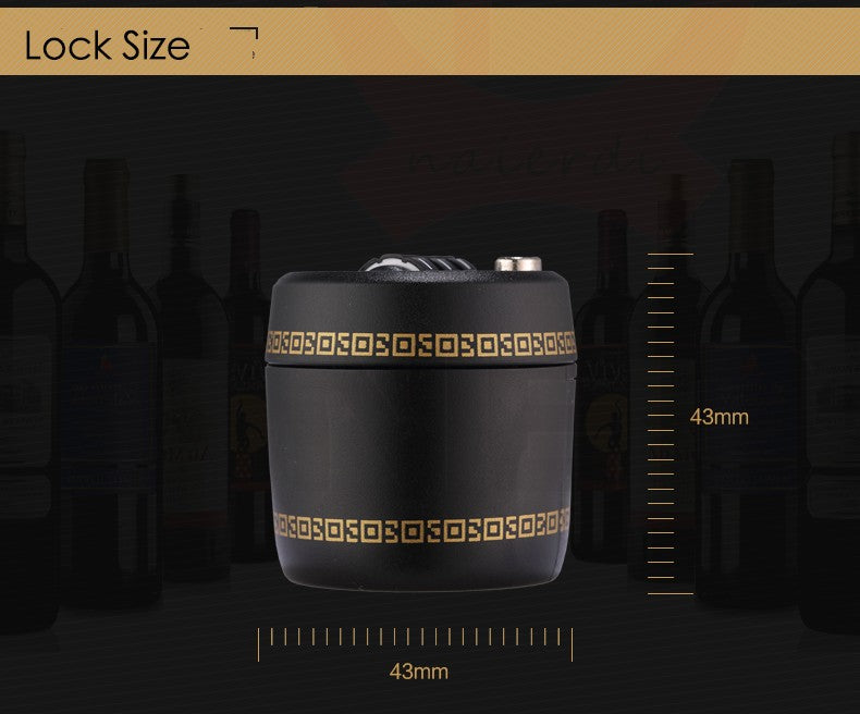 Wine Bottle lock with Password Protection