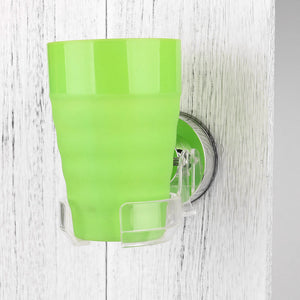 Portable  Shower Suction glass holder for Beer & Wine