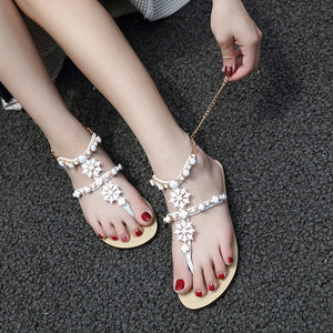 Gorgeous Girl's Crystal Sandals
