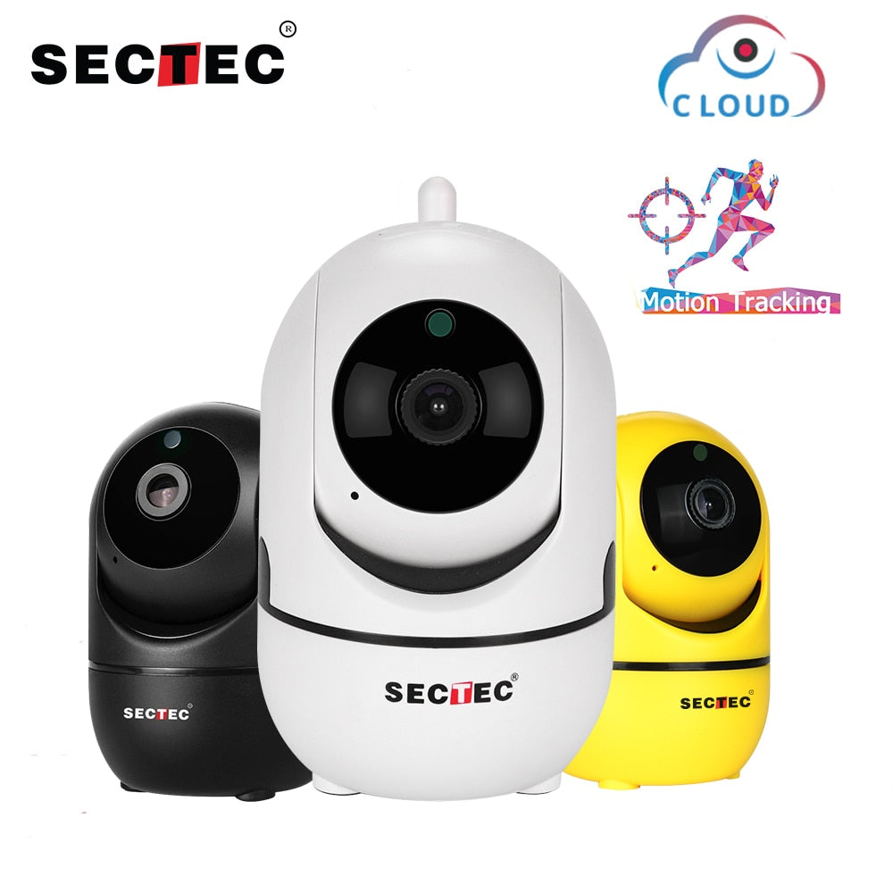 Wireless IP Auto Tracking Camera