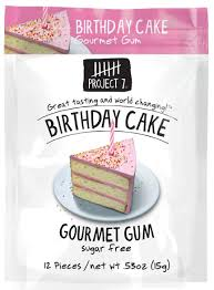 Munchie Case project 7 birthday cake gourmet gum