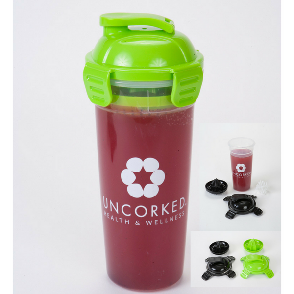 Juicer Bottle with Shaker Ball