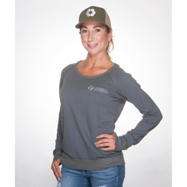 Womens Uncorked USA Made Sweatshirt