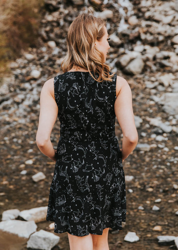 Animal Constellations Dress