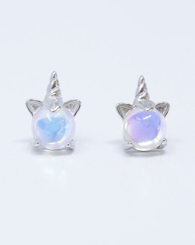 Unicorn Orb Earrings