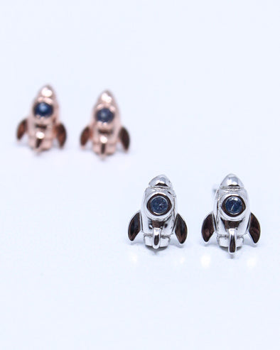 Rocket Ship Earrings