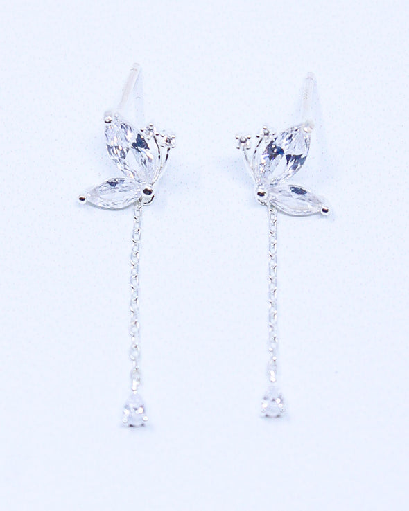 Shimmering Butterfly Earrings