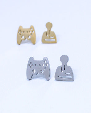 Video Game Controller Earrings