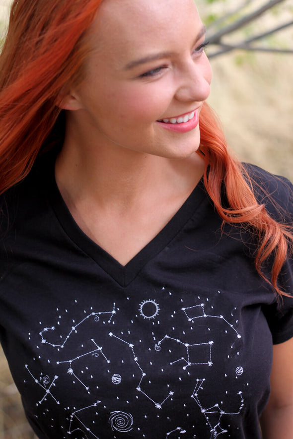 Embroidered Constellation Tee