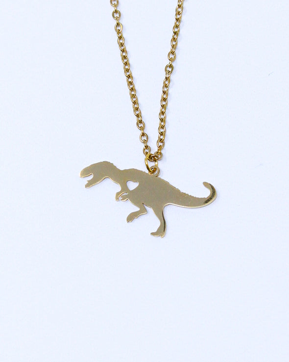 T-Rex Love Necklace