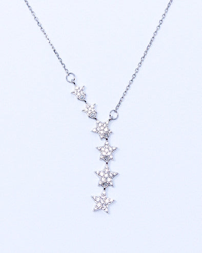 Trailing Stars Necklace