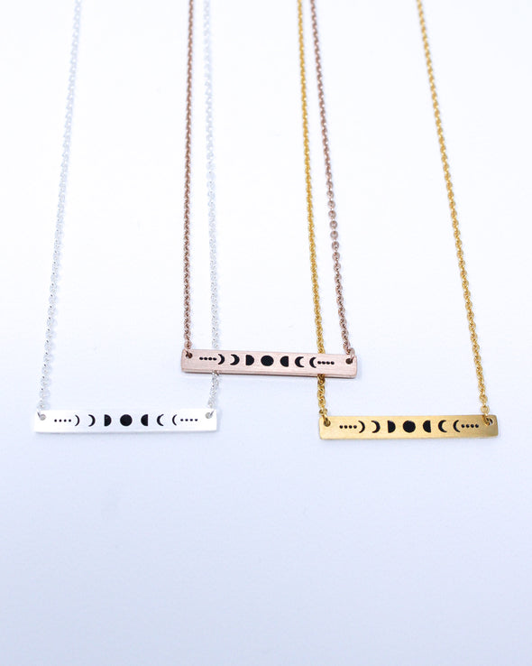 Moon Phases Necklaces