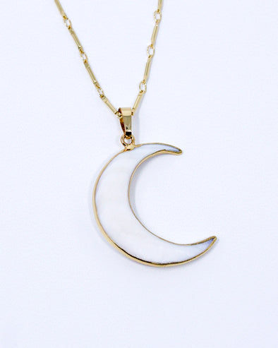 Moon Shell Necklace