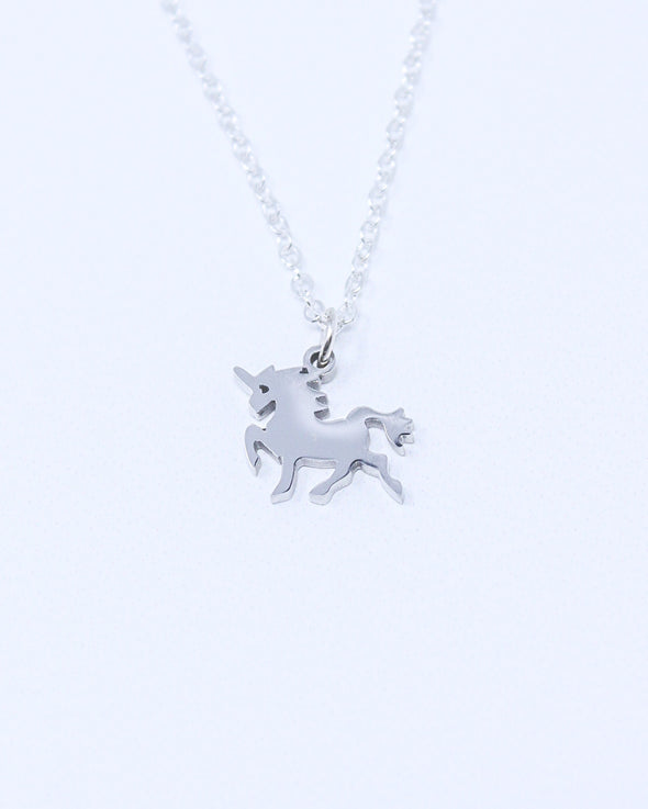 Dainty Unicorn Necklace