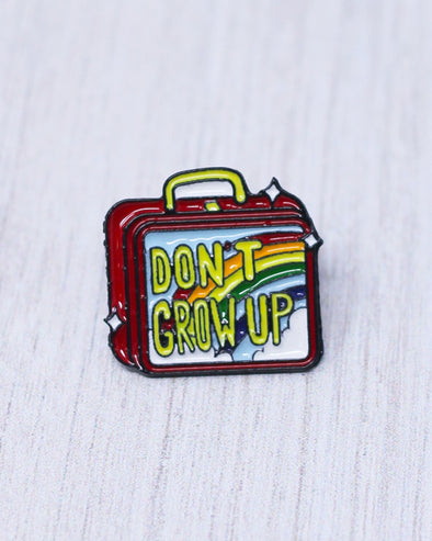Don't Grow Up Pin