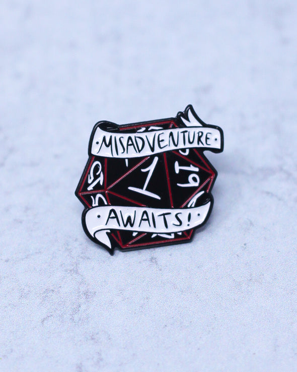 Misadventure Awaits Pin