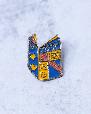 Comic Book Pin