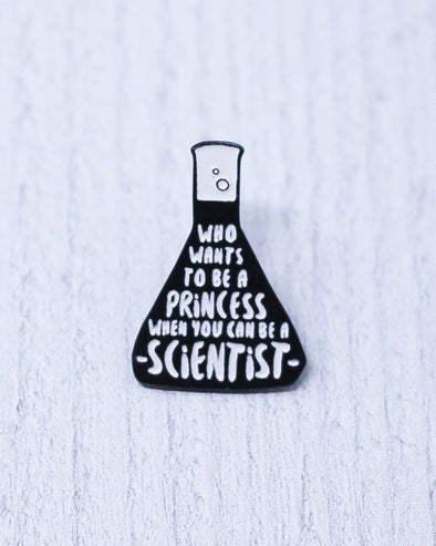 Scientist Beaker Pin