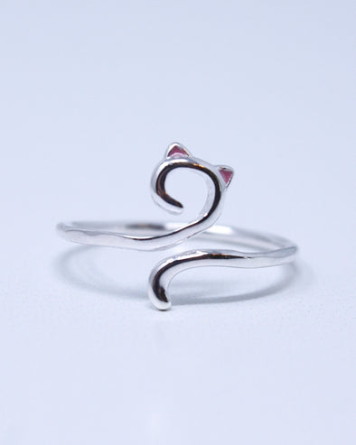 Playful Cat Ring