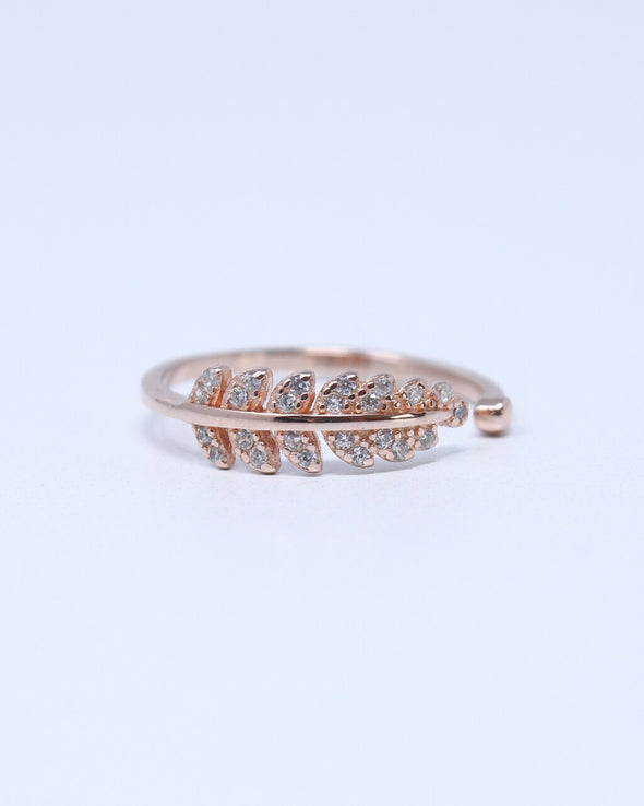 Laurel Leaves Ring