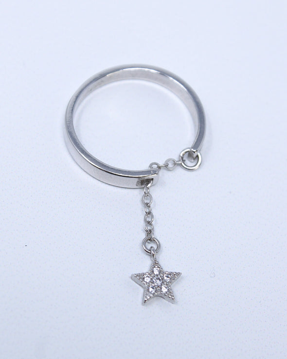 Celestial Dangle Ring