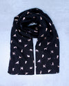 Cat Scarf - Black