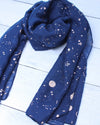 Space Scarf - Navy