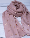 Cat Scarf - Pink