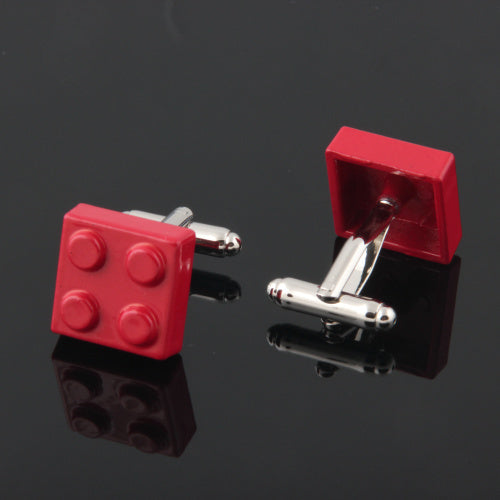 Brick Cuff Links