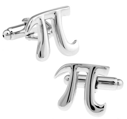 Pi Cuff Links