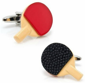 Ping Pong Cuff Links
