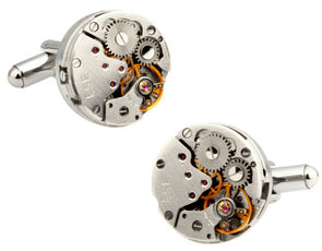 Gears Cuff Links