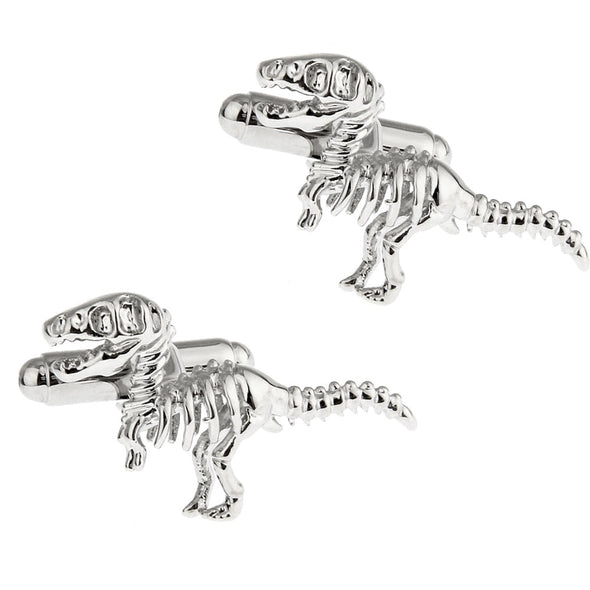 Dinosaur Bones Cuff Links