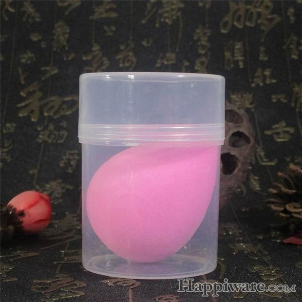 Great Makeup Foundation Sponge Powder - China / pink with case