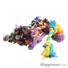Load image into Gallery viewer, Puppy Cotton Chew Knot Toy Durable Braided Bone Rope