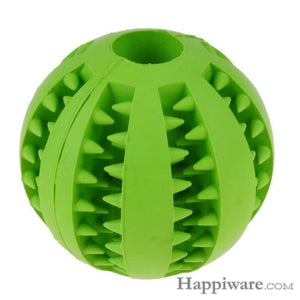 Puppy Elasticity Tooth Cleaning Balls Toys For Dogs - Green / 5 cm
