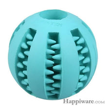 Load image into Gallery viewer, Puppy Elasticity Tooth Cleaning Balls Toys For Dogs - Light Blue / 5 cm